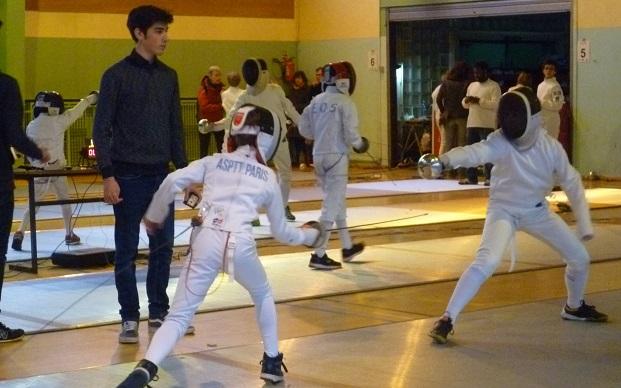 Challenge des Jeunes 2017 - ASPTT Paris IDF section Escrime