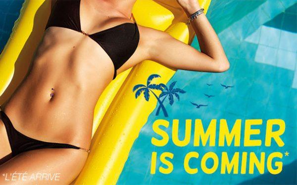 Summer is coming - fitness à prix réduit à Paris